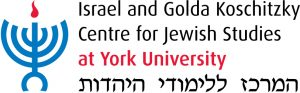 Image of the logo for the Israel and Golda Koschitzky Centre for Jewish Studies at York University.